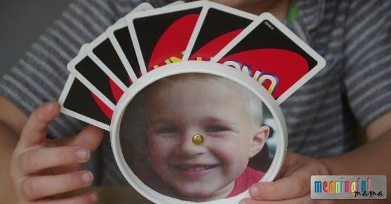 DIY Card Holder for Kids