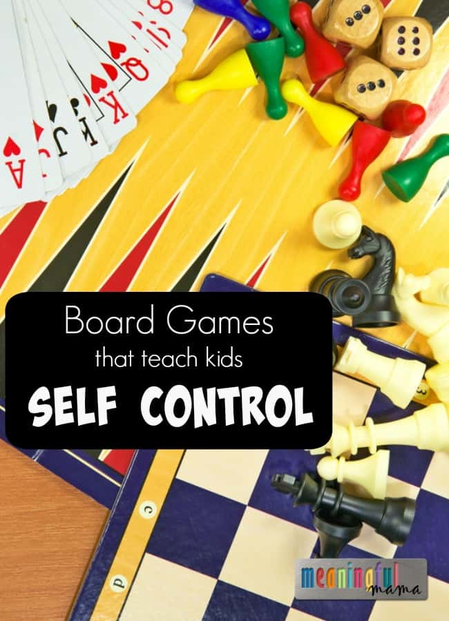 Games Teach Kids Self Control