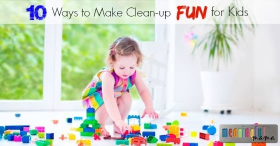 Getting Kids to Clean-Up