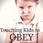 "Teaching Kids to Obey with the ""Yes, Mommy"" Game"