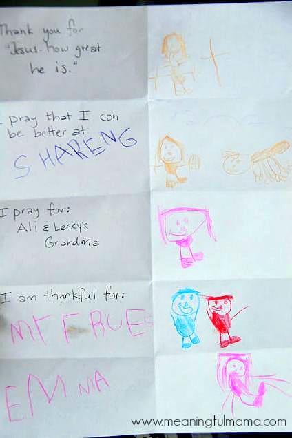 Teaching Kids to Pray with a Prayer Sheet - Christian Parenting
