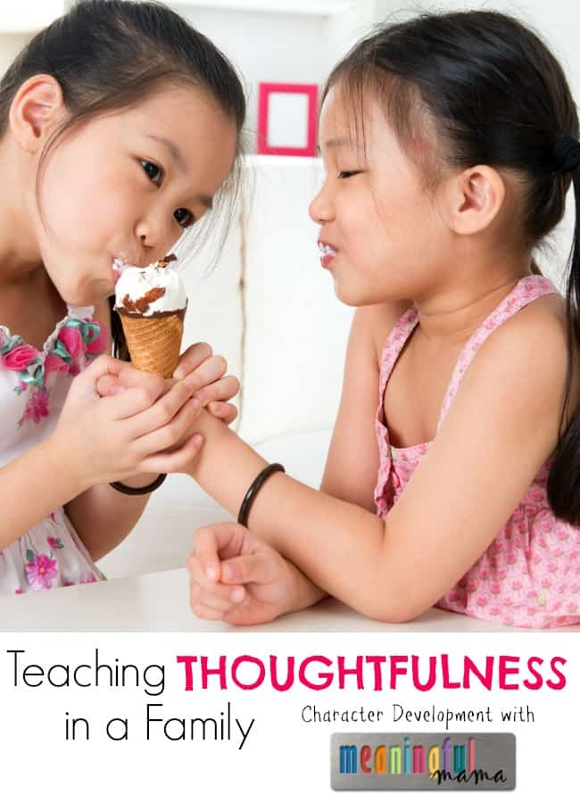 Teaching Thoughtfulness in a Family - Sibling Rivalry