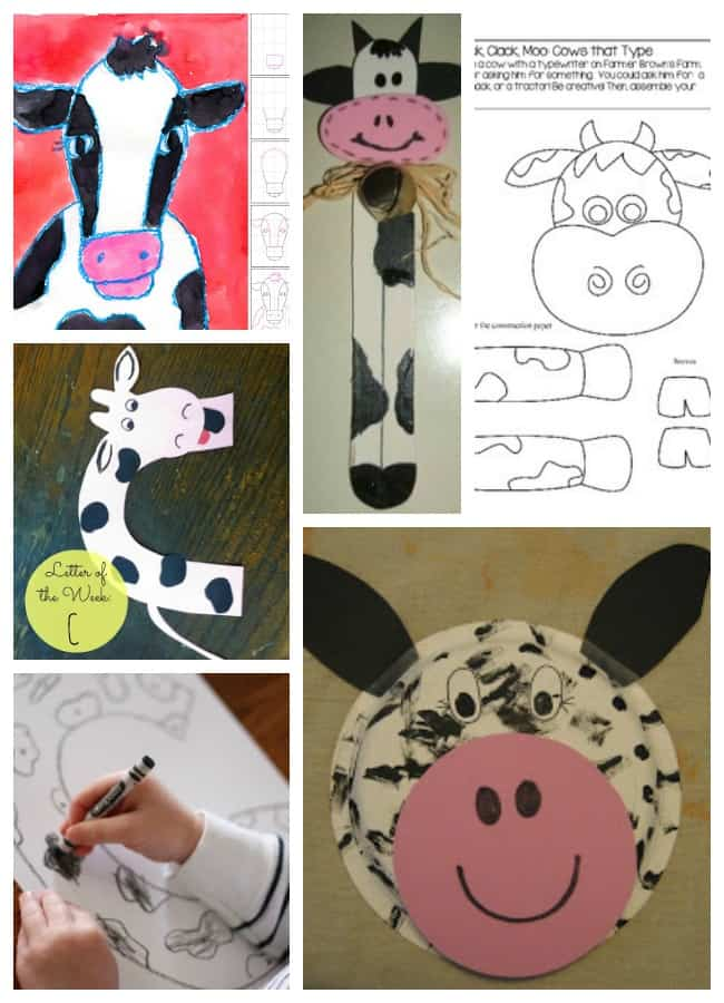 click clack moo activities crafts