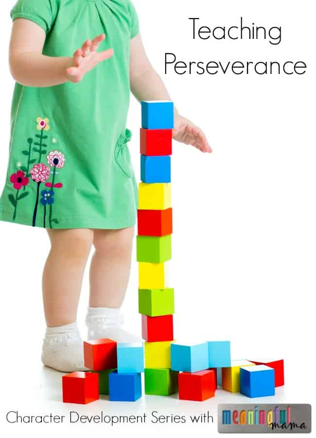 teaching perseverance kids character