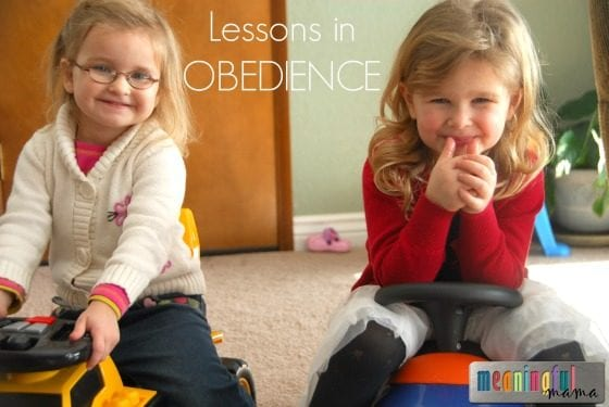 Following the Signs - A Lesson in Obedience