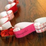Heart Paper Chain Teaches About Respect