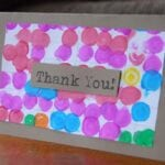 Day #48 – Polka Dot Thank You Cards