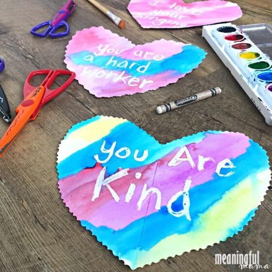 Hidden Message Valentine Hearts