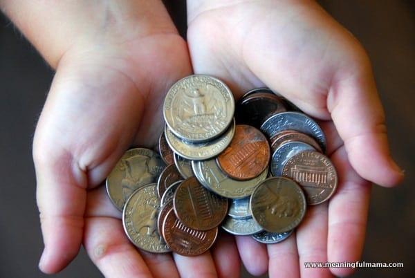 1-child holding money