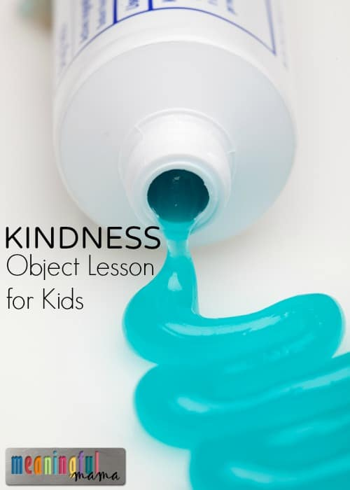 Teaching Kids to be Kind - Christian Object Lesson for Kids