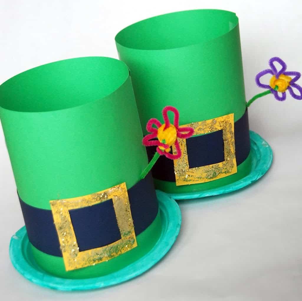 St Patricks Day Hat Crafts Leprechaun Hats