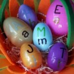 Upper and Lower Case Egg Match
