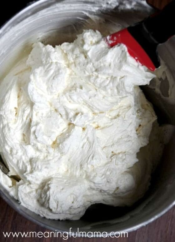 homemade buttercream frosting