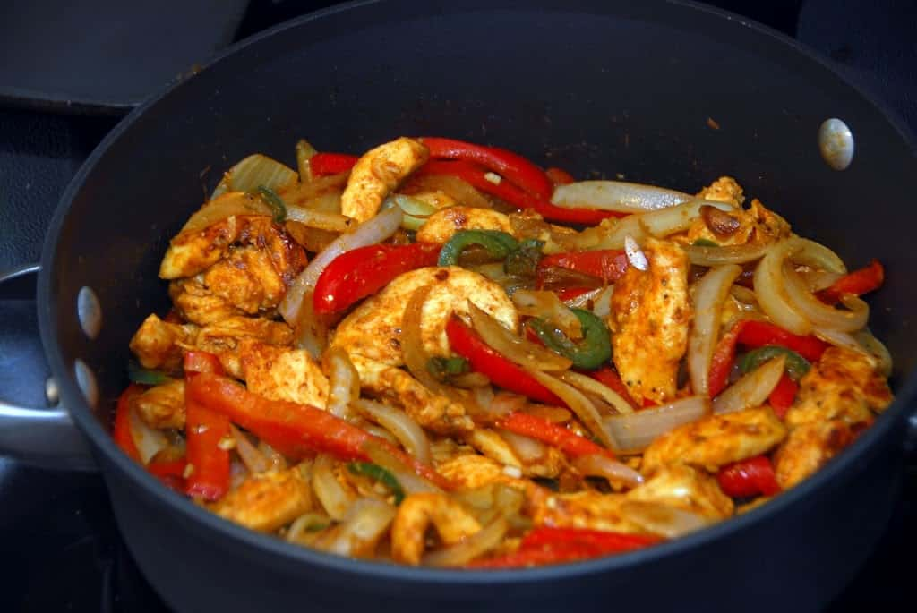 Chicken Fajitas - Meaningfulmama.com