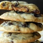 Rolo Stuffed Chocolate Chip Cookies