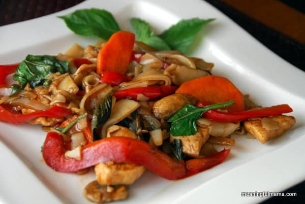 Restaurant Quality Pad Kee Mao - Thai Drunken Noodles Recipe
