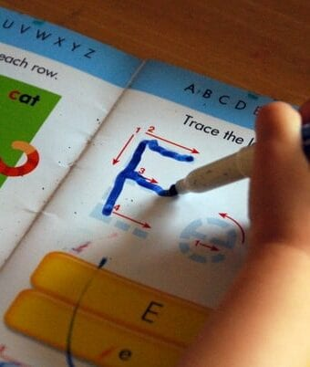 Writing Letters & Numbers Practice