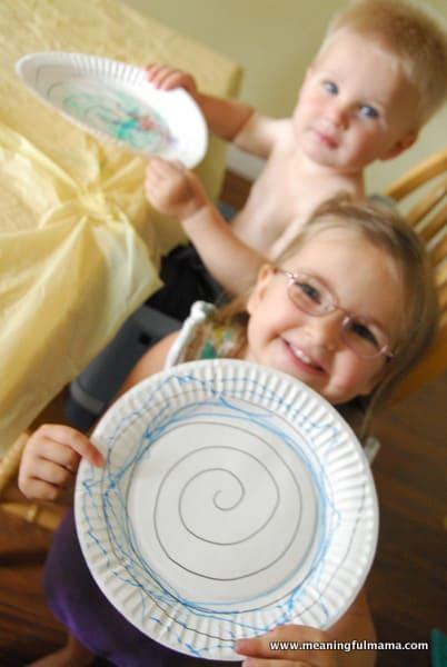 1-spiral paper plates 145