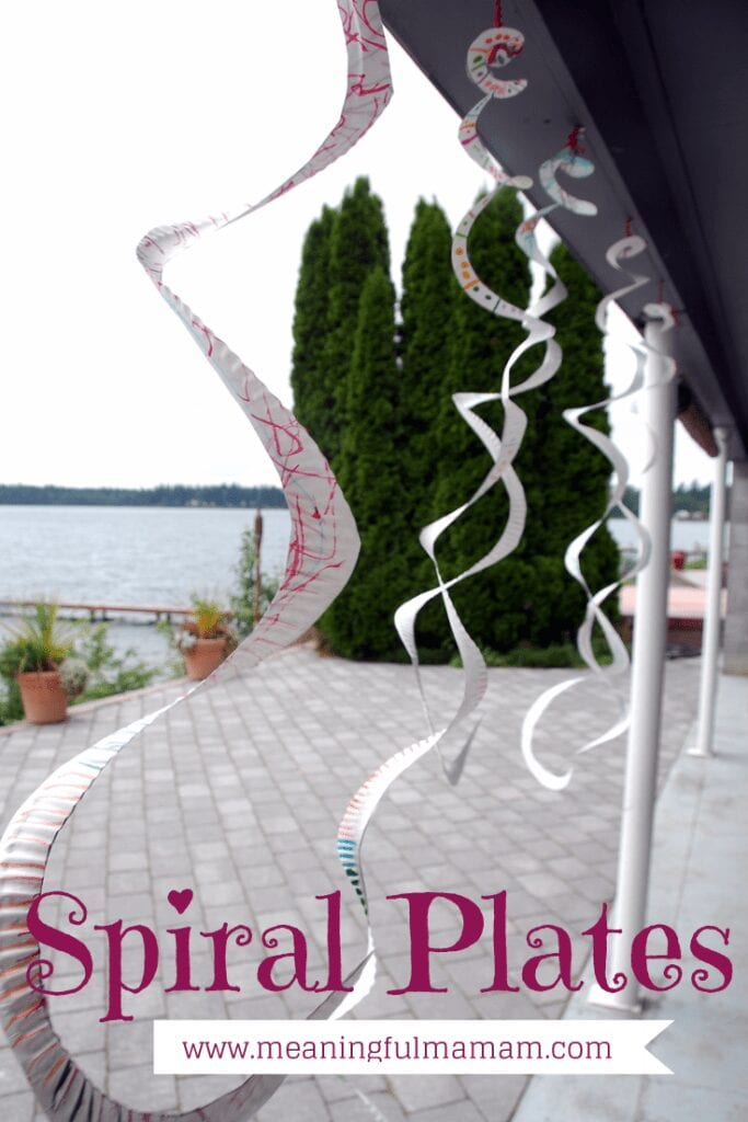 Spiral Paper Plates