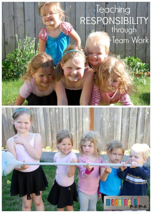 Teaching Responsibility Through Team Work - Character Development Series