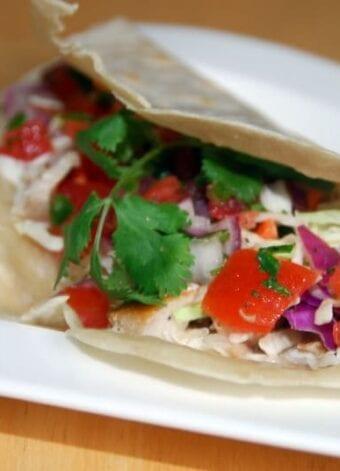 Mahi Mahi Fish Tacos