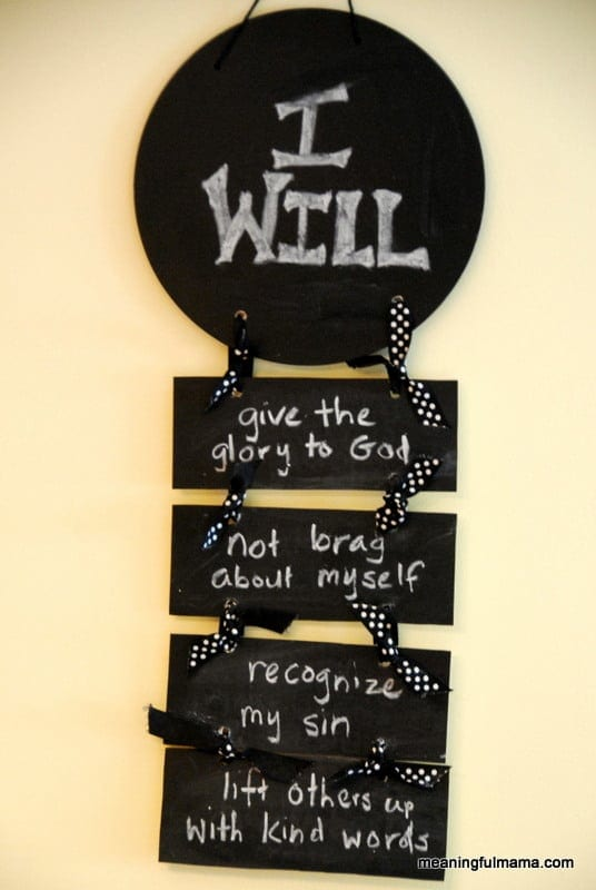 """Day #177 Humility """"I Will"""" Statements - Character Development, Week ..."""