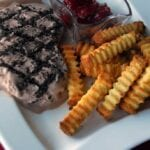 Father's Day Ice Cream Steak & Pound Cake Fries