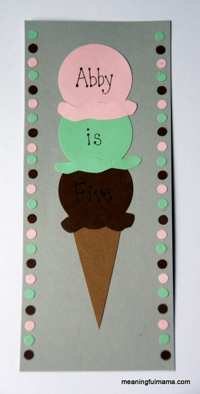 Homemade ice cream birthday invitations filmwisefo