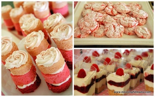 pics photos finger food desserts for baby shower
