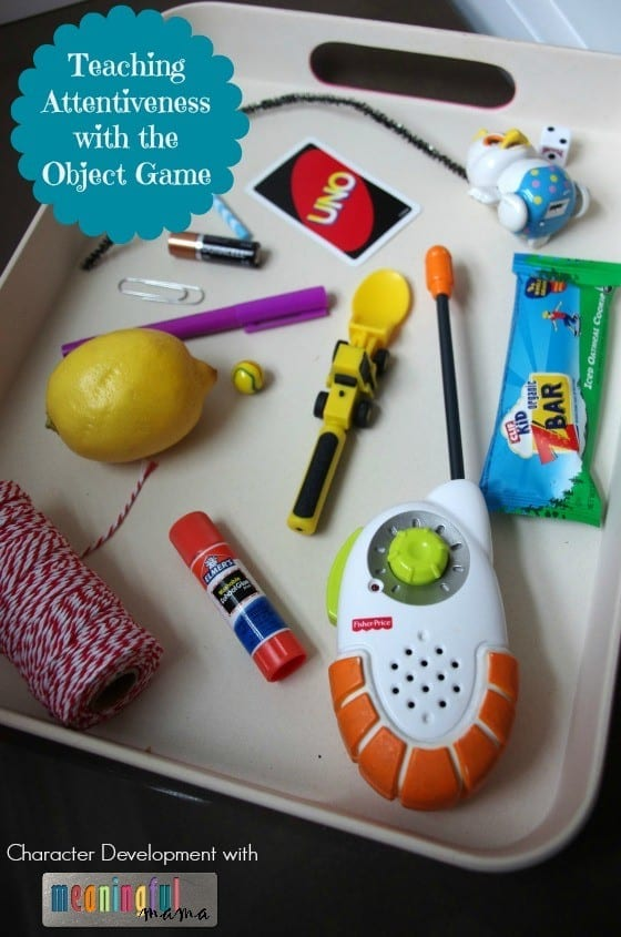 Attentiveness Object Game for Kids - Character Development Feb 26, 2016, 3-52 PM