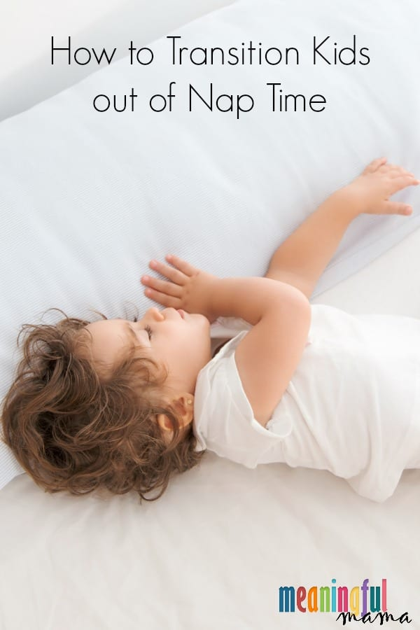 How to Transition Kids out of Nap Time