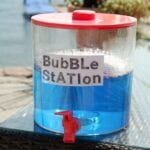 Bubble Refill Station & Homemade Bubble Recipe