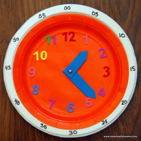 Часы из бумаги своими руками