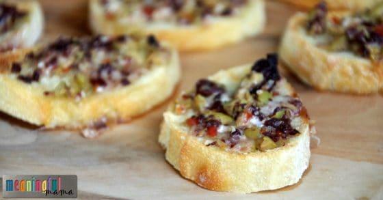 cheesy-olive-tapenade-crostini-recipe