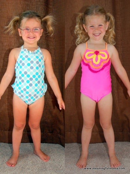 Kids In Bathing Suits In their bathing suits