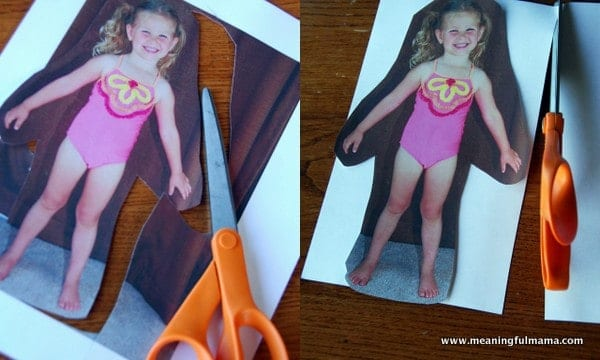 A Picture Of The Girls In Their Bathing Suits Posed Like Paper Doll Try And Take It Straight On At Level Also Not To Get Heavy Shadows