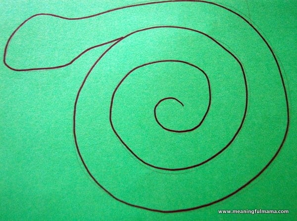 Snake Craft. My spiral paper plate ... & Day #272 Persuasiveness Like a Serpent and Dove - Character ...