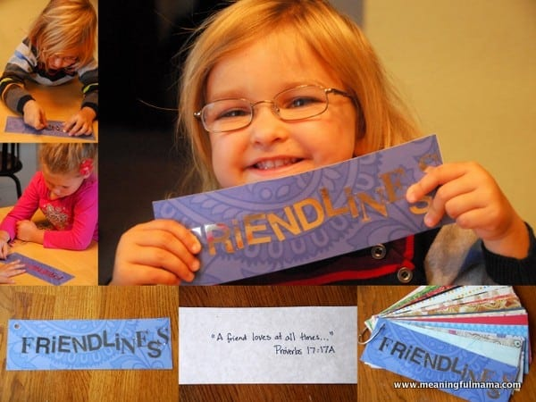 Day 287 Friendliness Word Ring Character Development Week 42