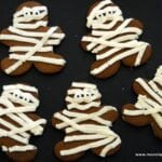 Halloween Gingerbread Cookie Mummies and More