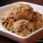 Moon Balls – A Healthier Kids' Snack