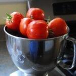 Peeling Tomatos