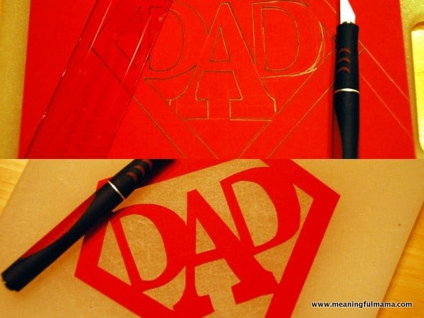 Super Dad Card With Printable