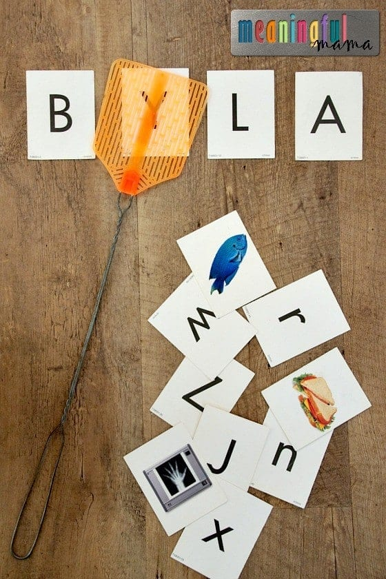 Learning Letters with a Fly Swatter Game Jan 20, 2016, 9-08 AM