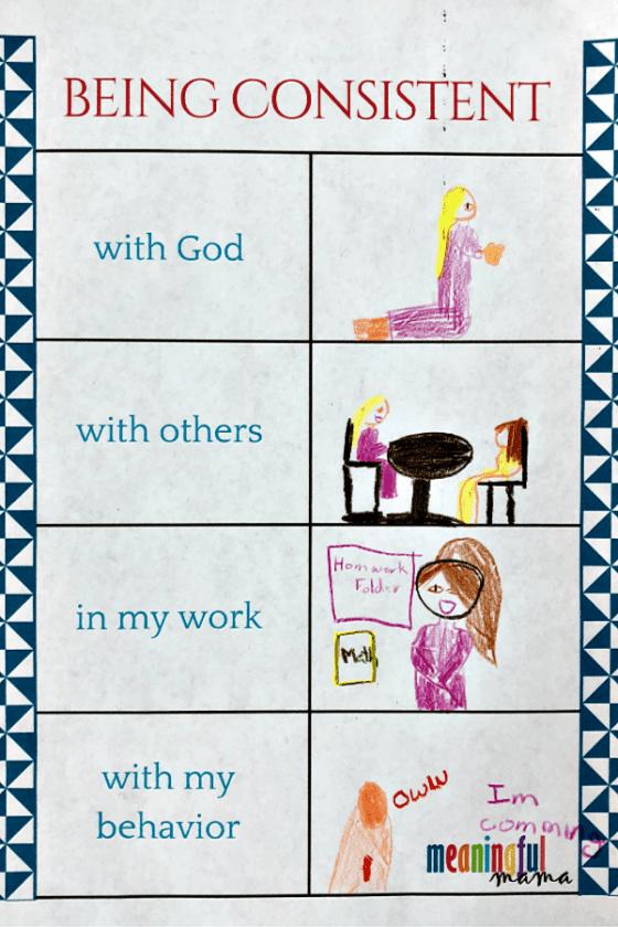 Teaching Kids Consistency Worksheet