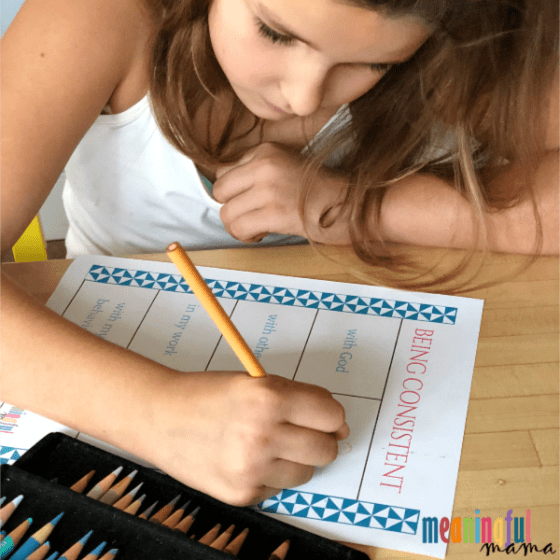 Teaching Kids How to Have Consistency in Life