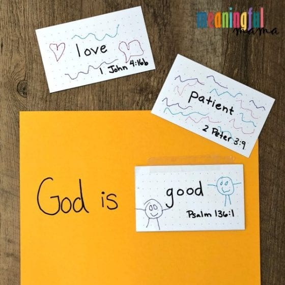 Teaching Kids to Worship God Because of His Character