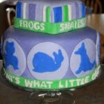 Frog, Snails, Puppy Dog Tails 1st Birthday