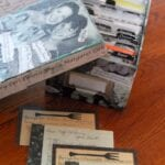 Mod Podge Recipe Box and Wedding Shower Recipe Card Gifts