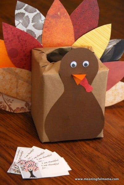 Inspiring thankfulness for Craft box for toddlers