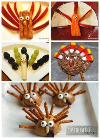 Fun with Food Turkey Treats – Snacks for Thanksgiving